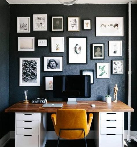 Kickass Ways To Decorate Your Home Office Vue45