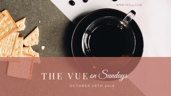 The Vue On Sundays – October 28, 2018