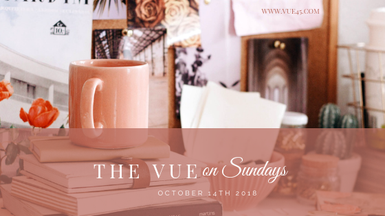 The Vue On Sunday, October 14