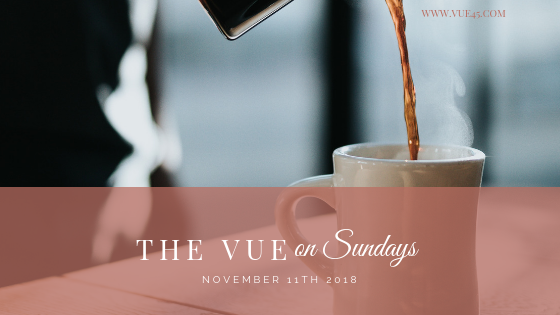 The Vue on Sundays – November 11 2018
